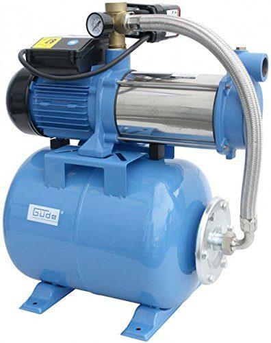 Das Güde 94191 Hauswasserwerk im Test MP/5A 24 LT