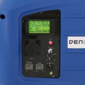 Display des Denqbar Stromerzeugers