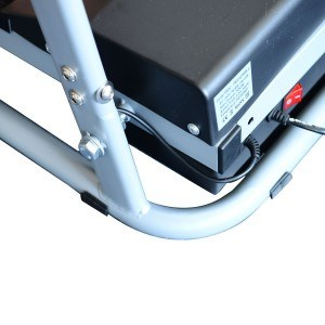 Mit 28 kg ist das Elektrisches Laufband Fitnessgerät ein absolutes Leichtgewicht.