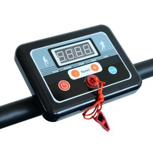 Ein übersichtliches Display hat das Elektrisches Laufband.