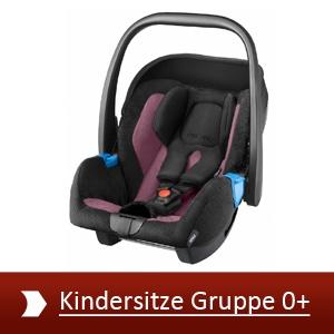 Kindersitze Gruppe 0+