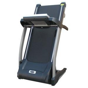 Das Heimtrainer Profi Fitness Laufband ist platzsparend klappbar.