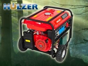 Holzer H8000/400V Stromerzeuger im Test