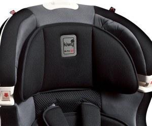 Polster Kiwy Kinderautositz Gruppe 1 bis 3 Carbon mit Isofix