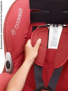 Polsterung Maxi Cosi Priori XP Kinderautositz Walnut Brown