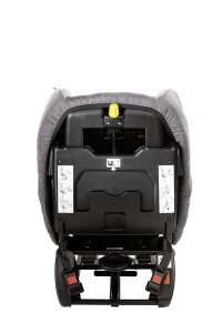 Rückansicht Recaro Kindersitz Polaric 6123.21209.66 Shadow