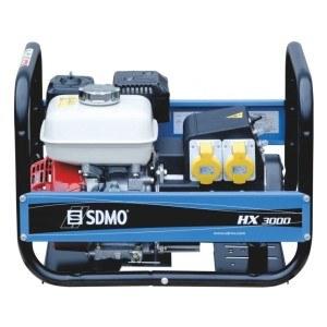 Portabler SDMO Stromerzeuger HX 3000 im Test