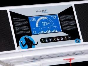 Das Skandika Laufband Marathon 7.0l Sf-1100 hat ein übersichtliches Display.