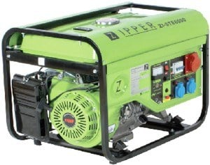 Zipper Stromerzeuger ZI-STE 6000 im Test