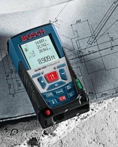 Laser Entfernungsmesser GLM 150 von Bosch