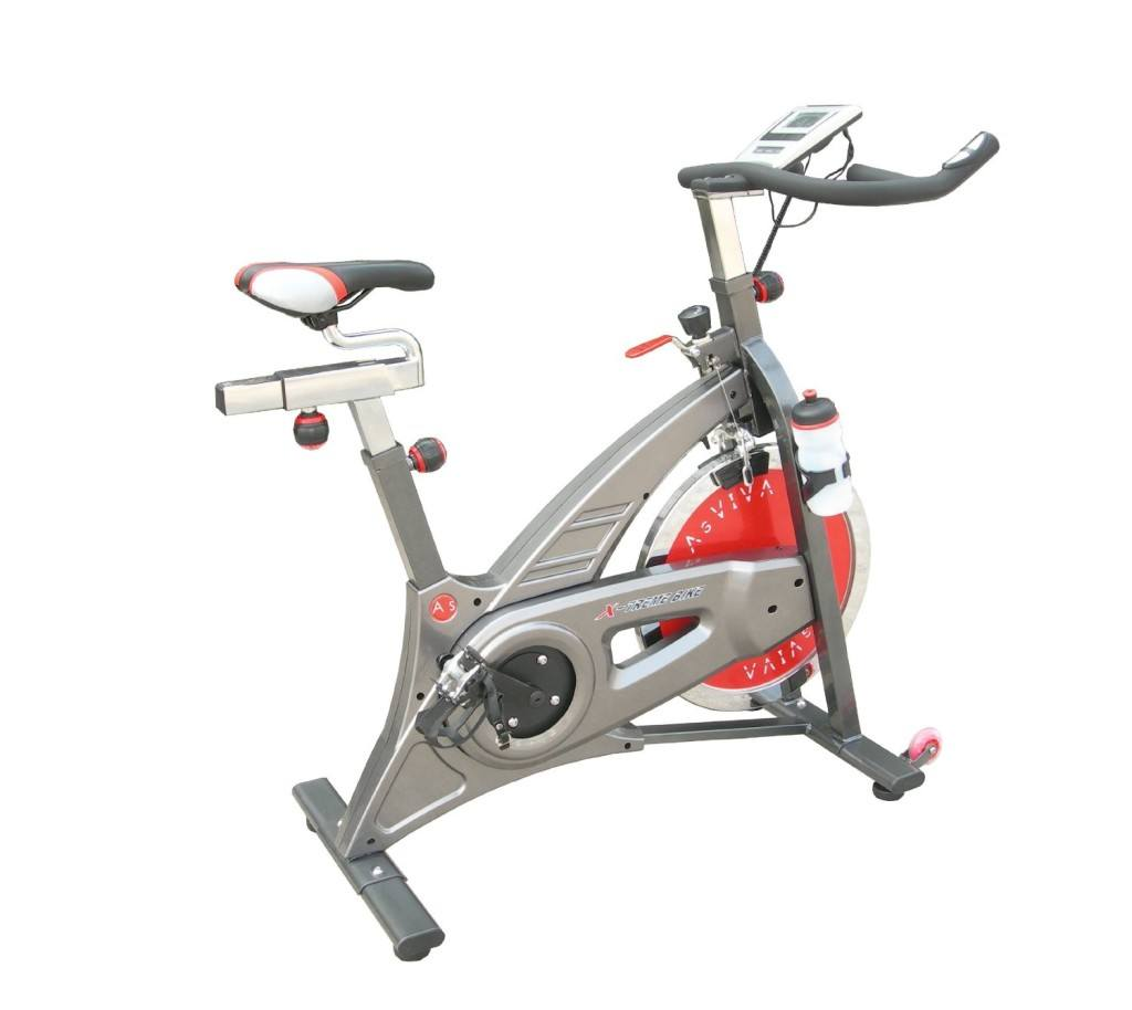 Heimtrainer Real Indoor Cycle Cardio VII von AsVIVA in silber