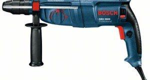 Bohrhammer von Bosch in blau/schwarz