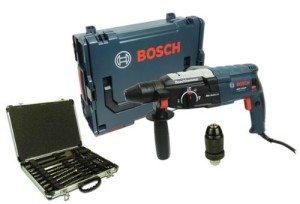 Bosch GBH 2-28 DFV Bohrhammer in L-BOXX + Makita Bohrer & Meißelset im Test