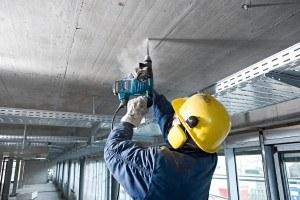 Bosch GBH Bohrhammer in Aktion