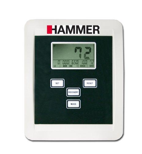 Darstellung von einem Display von einem Heimtrainer Hammer