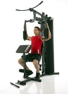 Die Brustpresse der Hammer Kraftstation Ferrum Tx1 trainiert den Brutsmuskel optimal.