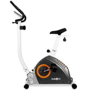 Das Klarfit Mobi-Advenced-Fitnessbike hat einen 10-stufig verstellbarer Widerstand.