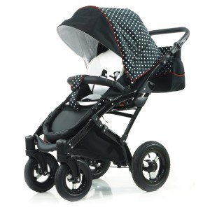 Der Knorr-Baby 33000-02 Kombi-Kinderwagen Voletto Tupfen Limited Edition im Test.