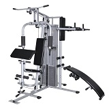 Kraftstation Profi Fitnessstation Fitnesscenter Krafttraining Multistation Gym im Test
