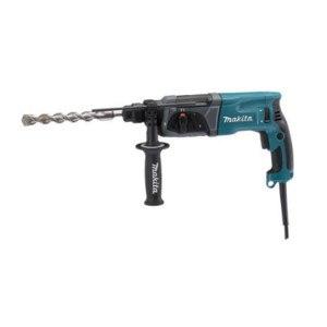 Makita HR 2470 Premium Bohrhammer in blau schwarz