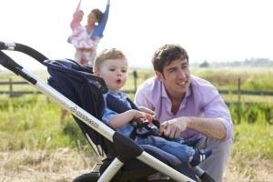 Der Kinderwagen Mura 4 von Maxi-Cosi ist für die ersten Babyjahre ideal.