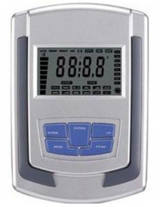 Der RBS Heimtrainer Ergometer City 200 hat einen relativ kleinen Trainingscomputer.