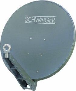 Aluminium Satellitenschüssel von Schweiger
