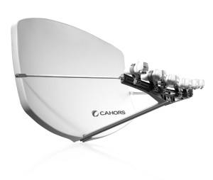Satellitenschüssel Visiosat BIG für HD