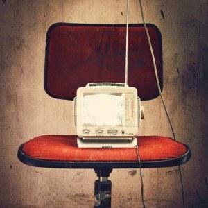 Eines der frühesten Fernsehgeräte
