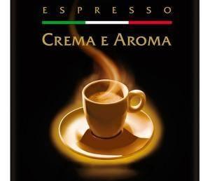 Zubereiteter Espresso crema e aroma