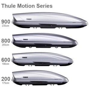 Dachbox Thule Motion 600, Schwarz glänzend