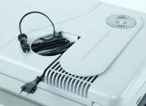 Mobicool Q40 AC/DC elektrische Alu-Kühlbox - Anschlußkabel