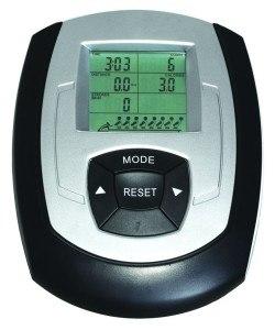 Das Display des AsVIVA Rudergerät Ergometer Rower Cardio XI ist übersichtlich.