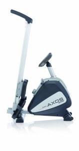 Das Rudergerät von Kettler der Axos Rower, ArtNr:7985 ist leicht zusammen geklappt.
