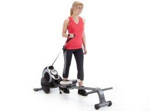 Das Skandika Rudergerät Regatta Pro 5 Neptun läßt sich auch als Fitnessgerät nutzen.