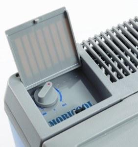 Temperatureinstellung der Mobicool B 40 Hybrid Thermoelektrik- und Kompressorkühlbox