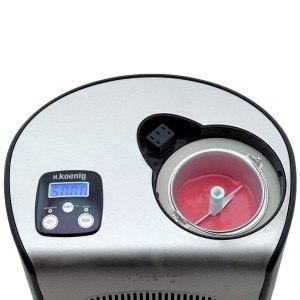 H.Koenig HF250 Eismaschine Touchpad-Bedienung