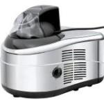 Gino Gelati IC-200W-BS 4in1 Eismaschine mit Kompressor