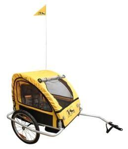 Der M-Wave 640091 Kinder-und Gepäck Fahrradanhänger im Test.