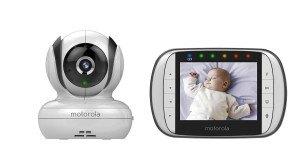 Das Motorola MBP36S Digitales Video Babyphone mit LC-Display in der Elterneinheit, 3.5 Zoll für Sie getestet.