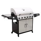BBQ Barbecue Gasgrill 6+1 (6 Hauptbrenner) schwarz-silber DE/AT/CH inkl. Timer im Test