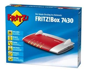 AVM Fritz!Box 7430 Verpackung