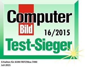 Router AVM Fritz!Box 7490 Vergleich-Testsieger2015