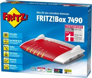 Router AVM Fritz!Box 7490 Verpackung