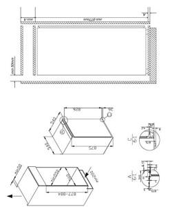 Der Amica EVKS 16172 Kühlschrank hat ein Fassungsvermögen von 144 Liter.