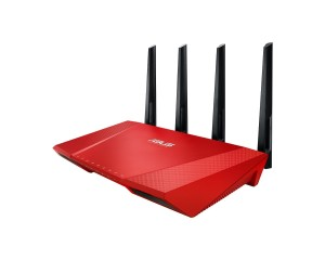 Asus RT-AC87U AC2400 Black Diamond Router Hauptbild