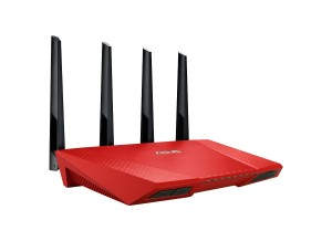 Asus RT-AC87U AC2400 Black Diamond Router rot
