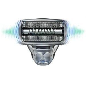 BRAUN 799cc Rasieren mit Dreifach-Scherensystem