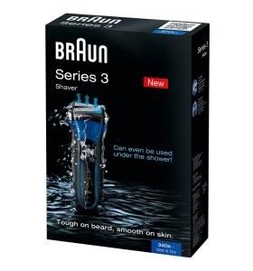Rasierer BRAUN Series 3 340s Wet & Dry Verpackung