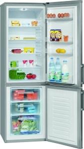 Die Bomann KG 183 Kühl-Gefrier-Kombination hat eine sinnvolle Einteilung im Innenraum.